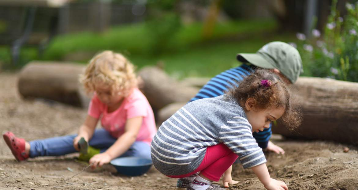 Toddlers Learning through Play